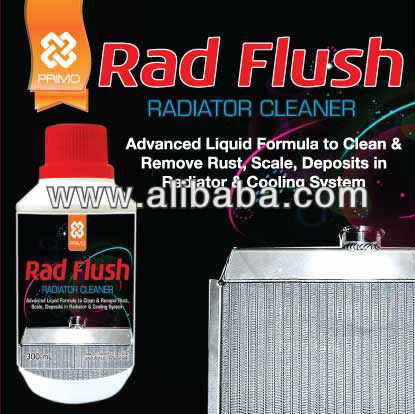 Car Care Product: RAD FLUSH (Radiator Flush)