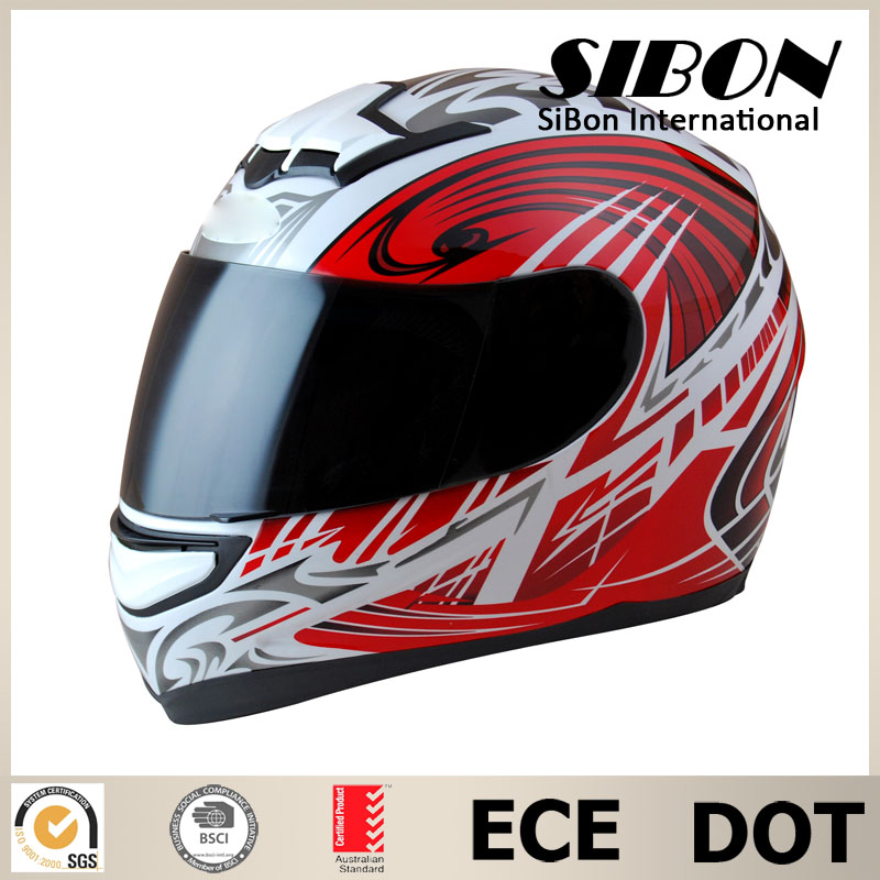 SIBON DOT ECE adult full face cool motorcycle helmet designs
