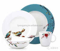 fine porcelain dinnerware sets china with your own design ok