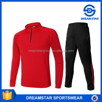 England Club Fasional Sport Tracksuit For Red In Stock