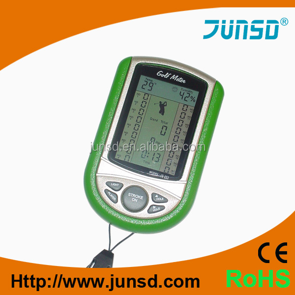 Manufacturer hot multifunction golf meter Jumbo LCD display watch JS-202