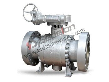 Stainless steel trunnion mounted ball valves manufacturer