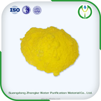 Poly aluminium chloride PAC (PAC-V2) yellow solid powder treatment of drinking water
