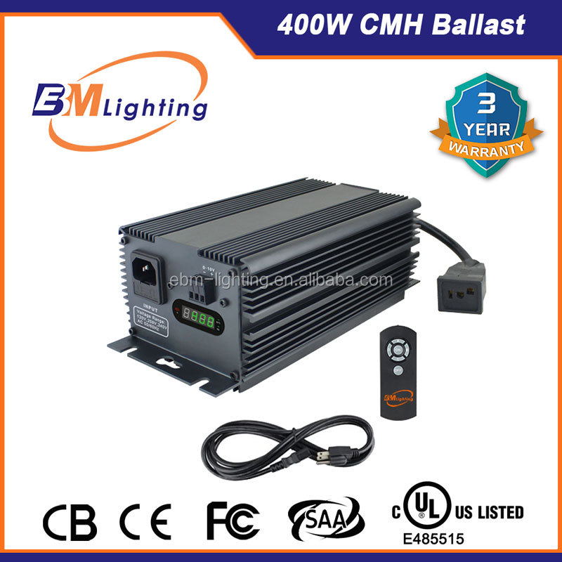 China professional manufacturer new Dimmable 400W Hydroponics Electronic Ballast CE/UL approved