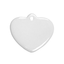 wholesale personal heart shape ceramic Christmas decorations ornaments