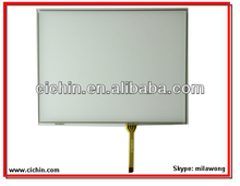 8.8 inch 4 wire resistive touch screen panel for intercoms, advertising player, GPS car navigation