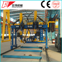 Heavy duty automatic welding machine/ h beam production line