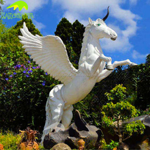 KANOSAUR6430 Amazing Resin Unicorn Animal Statue For Sale