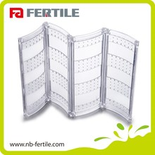 FERTILE Walmart audited factory high transparency hanging jewelry organizer