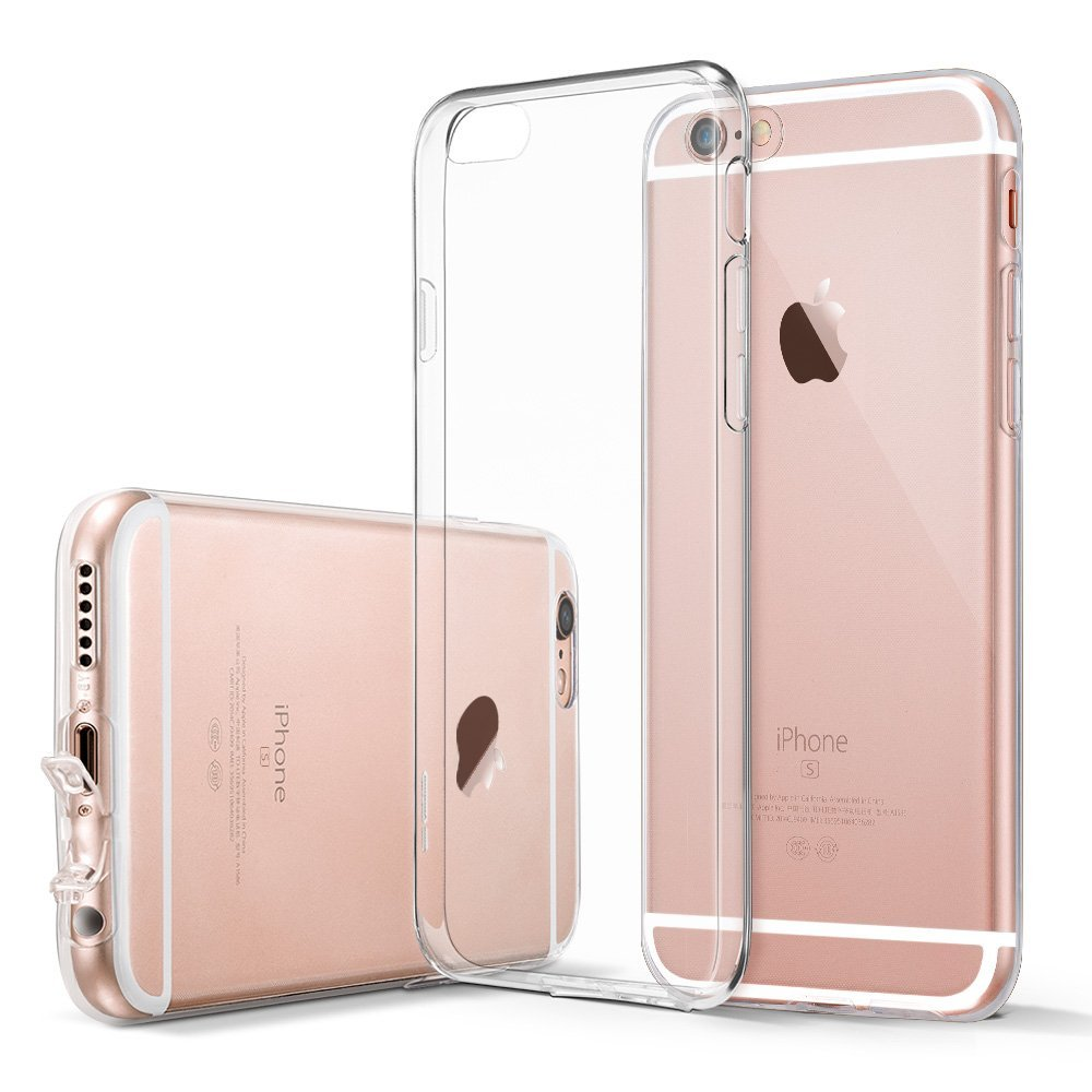 2016 Ultra Thin Flexible TPU Bumper Skin Scratch-Resistant Soft Durable Protective Liquid Crystal Clear Cover For iPhone 6