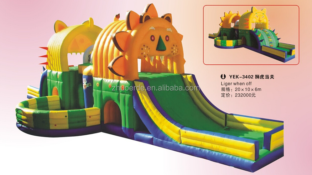 2016 children inflatable new minion combo bouncer,inflatable slide castle trampoline,inflatables castles bounce for sale