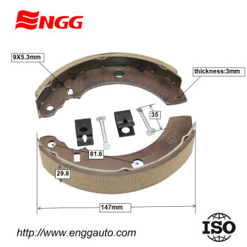 Brake Shoe New For Mototaxi For Bajaj 3w4s