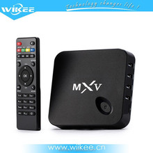 Hot Sale High Quality Iptv Set Top Box Mxv 4k Octo-Core Mali TM 450MP internet tv box