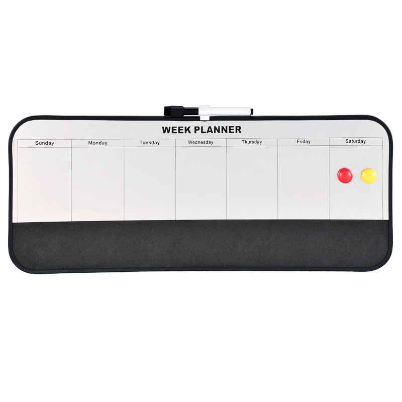 Plastic folding magnetic white board