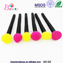 New Invention 2016 cosmetic powder brush/sponge puff shiny ball diamond travelling makeup brush set/As Seen On TV