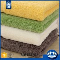 china wholesale quick-dry water absorb organic cotton towel soft