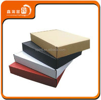 cheap popular sport apparel colorful packing box