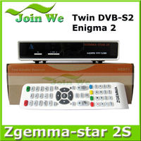 Fantastic Twin Tuner DVB-S2 Zgemma-star 2S ENIGMA2 LINUX OS hd satellite receiver software download Electronic TV programmes