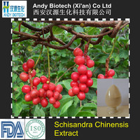 100% Natural High Quality Schisandra Chinensis Extract Powder