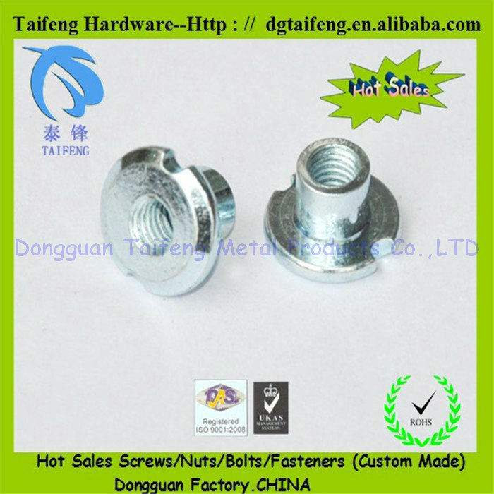4 prong head furniture hardware with inner thread