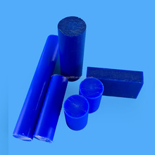 Blue nylon rod cast polyamide PA6 rod/nylon rod