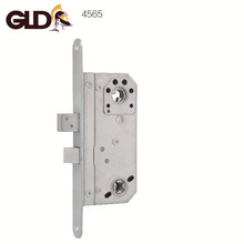 High quality zinc latch steel cylindrical body multi-point mortise lock body 4565