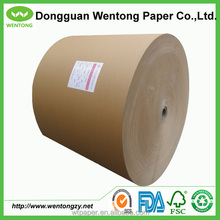 Brown kraft corrugated paper