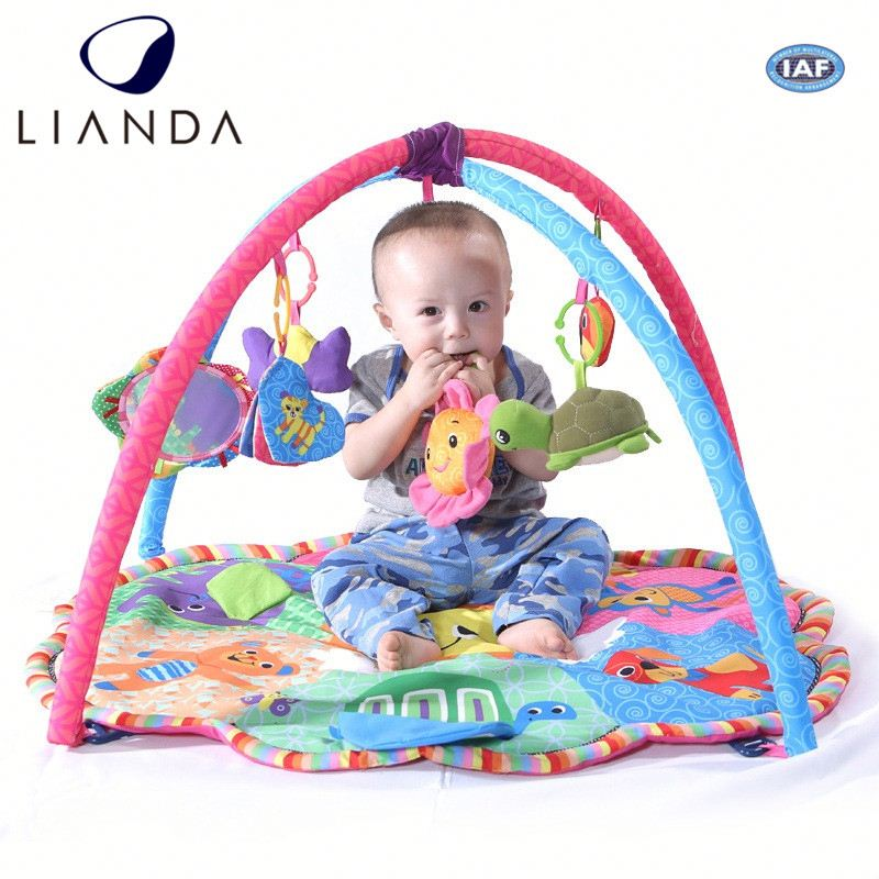 Plush Baby Play Mat Activity Gym, Electronic Musical Mat, Learning Mat