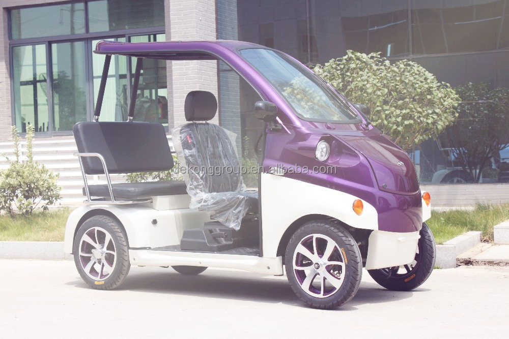 2016 new 3 person mini resort electric car
