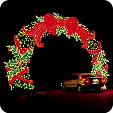 Outdoor holiday decorations christmas light decorative arch