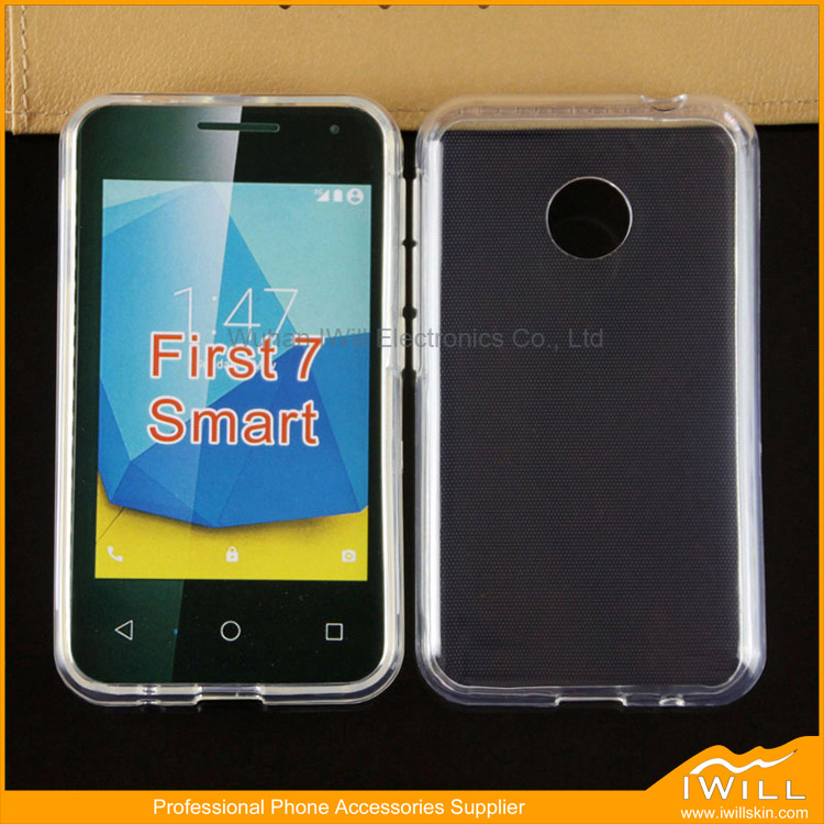 Wholesale Newest Tranparent TPU Cover For Vodafone Smart first 7 Clear Rubber Case Mobile Skin