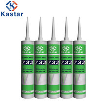 Eco-friendly Strong Tensile Super 100% Silicone Sealant For Construction Materials