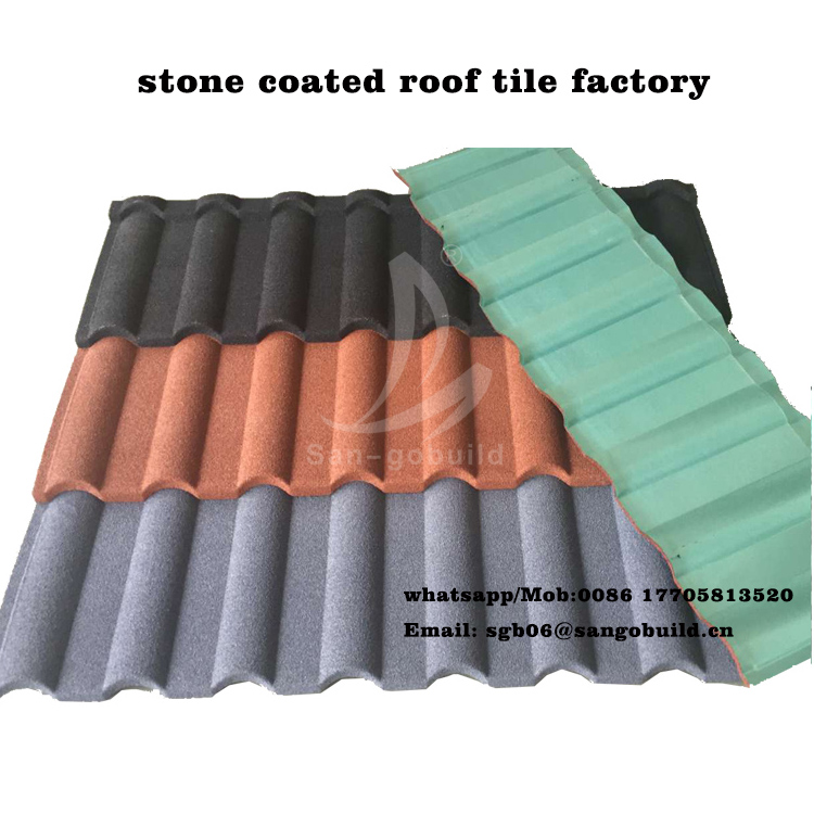 Colorful Asphalt Shingle / Factory Stone Coated Roof Tile Price/ Roof Sheet