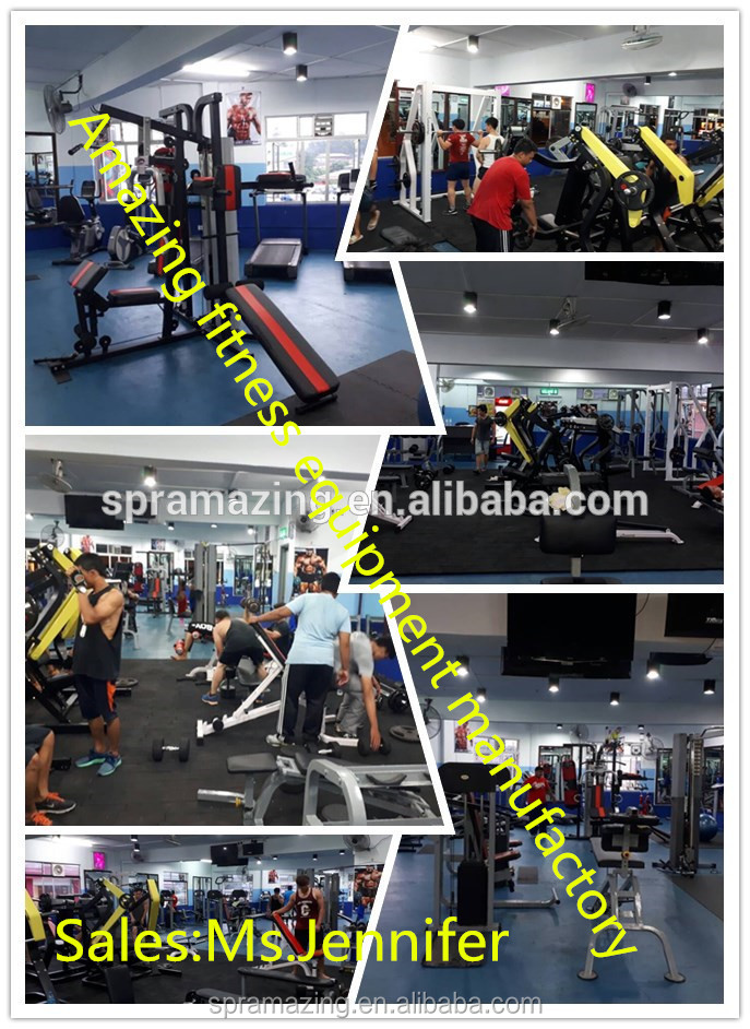 Lat Pulldown Low Row dual function commercial strength training gym equipment fitness exercise machine AMA-305