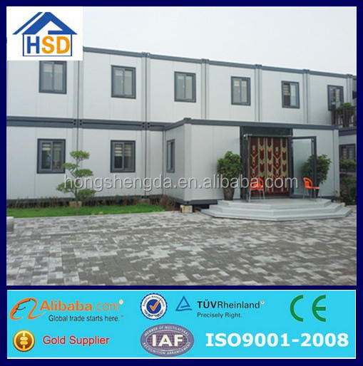 china low cost flat pack container house prefabricated hotel building