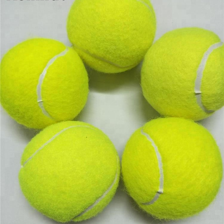 Factory tennis balls with High quality and wear resistance high bounce wool felt OEM/ODM tennis balls
