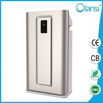 China wholesale home air purifier/powerful functions/HEPA filter/ionizer air purifier K06/Big air flow, high-speed fan