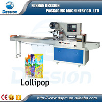 High Speed Lollipop Snacks food Automatic Horizontal Packaging Machine