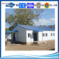 different colors steel prefab club house