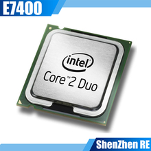 Core 2 Duo E7400 Processor Dual-Core 2.8Ghz Socket 775 cpu