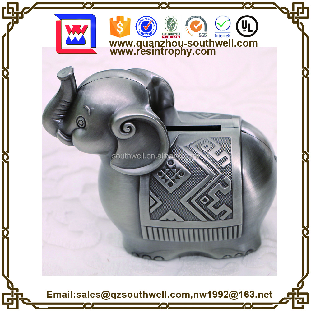 Cute Elephant Animal Saving Money bank box