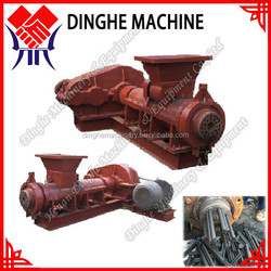 Pulverized coal rods making machine / pulverized coal extruding machine / pulverized coal extruder
