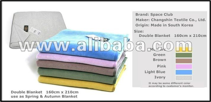 Double Blankets 100% Polyester - Original Made-in Korea