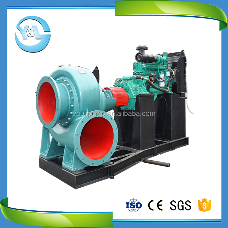 Y&L (China) Diesel Mixed Flow Booster Pump/Diesel Mixed Flow Booster Water Pump/Diesel Mixed Flow Pump