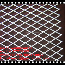 low price 7*12mm aperture expanded stainless steel wire mesh round pizza pan screen from Alibaba