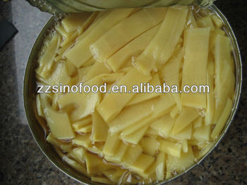 canned bamboo shoot Slice/Strips in water