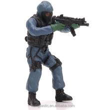 New promotional model PVC soldier, custom plastic figures for kids, Pvc soldier pvc vinyl figure toy