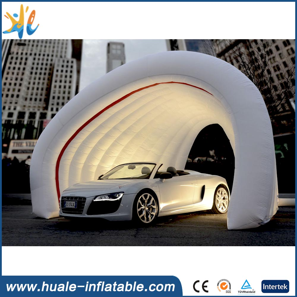 Hot selling inflatable carport garage,inflatable garage for advertising