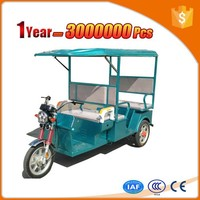 electric taxi enclosed delivery tricycle for sale