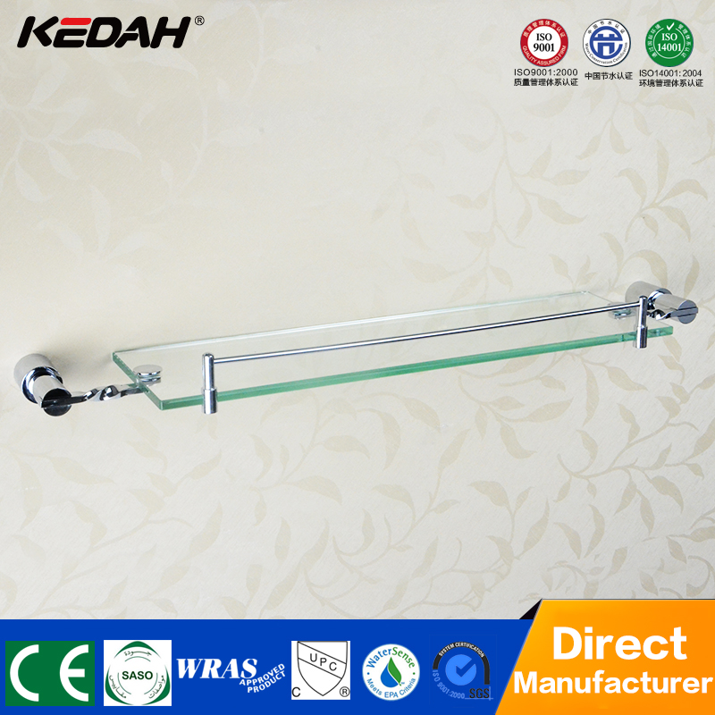 high quality metal bathroom corner bracket for glass shelf
